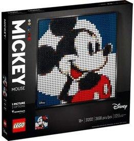 Lego Lego art mickey mouse