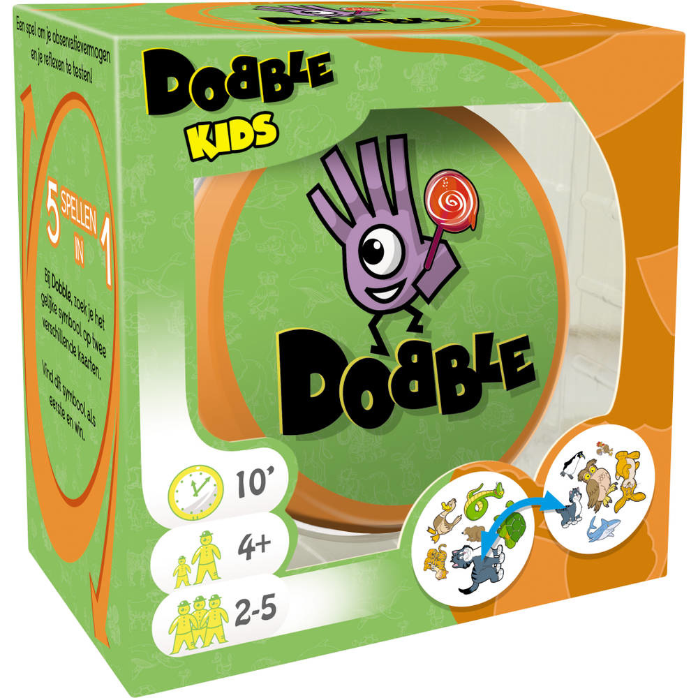 Dobble kids kaartspel asmodee