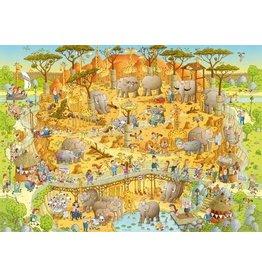 Puzzel 1000 african habitat he