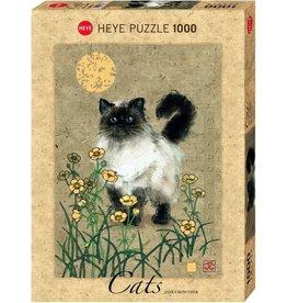 Puzzel madow cat 1000st heye