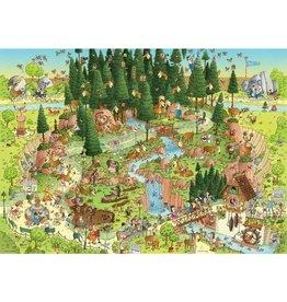 Puzzel 1000 black forest habit