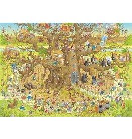 Puzzel 1000 monkey habitat heye