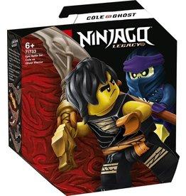 Lego LEGO NINJAGO Epische Strijd Set Cole tegen Spookstrijder