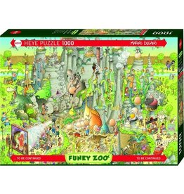 Puzzel Nile Habitat,Comic 1000 Stukjes Heye