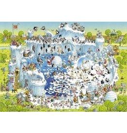 Puzzel Polar Habitat,Comic 1000 Stukjes Heye