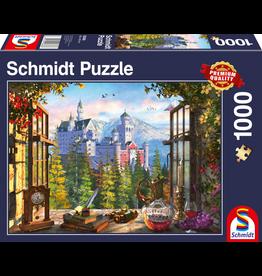 Schmidt Puzzel 1000 uitzicht op sprook