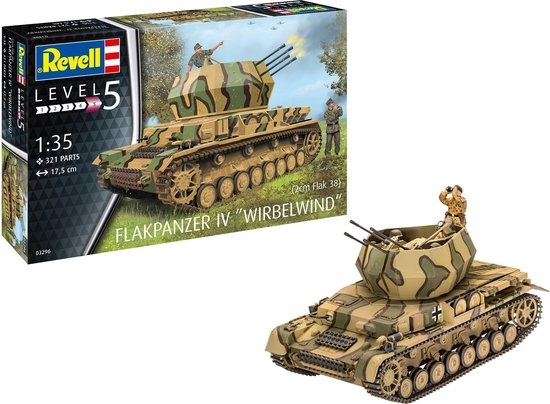 Revell Flakpanzer wirbelwind