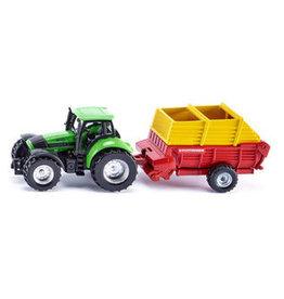 Siku Siku deutz tractor + opraapw.