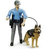 Bruder politie met hond