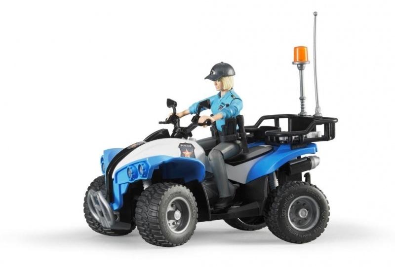 Bruder politie quad+pol.agente