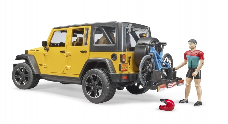 Bruder jeep wrangl.mounainb+fi