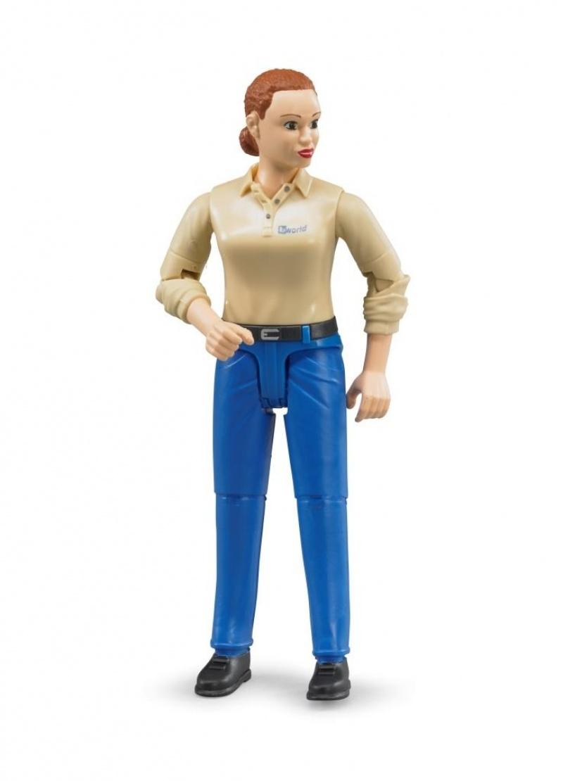Bruder vrouw met jeans