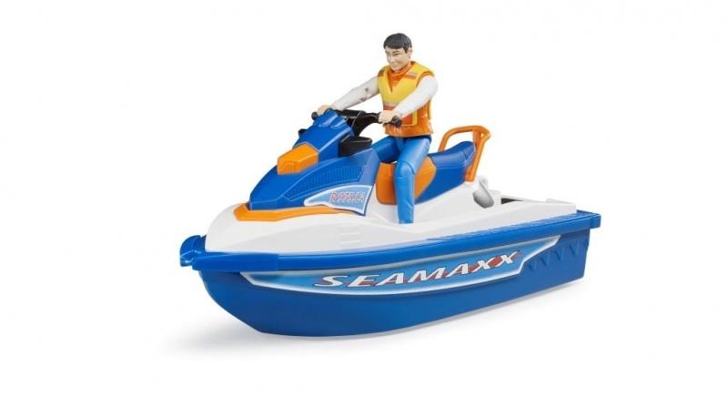 Bruder waterscooter+vaarder