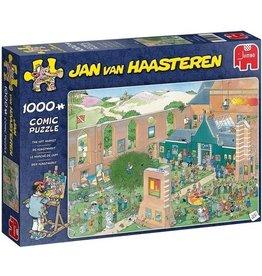 Jumbo Puzzel 1000 de kunst markt jvh