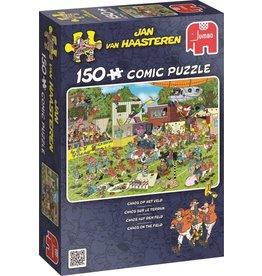 Jumbo Puzzel 150 chaos op het veld