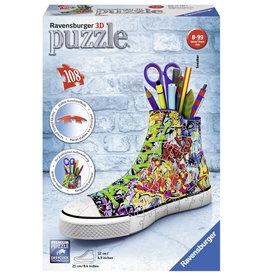 Ravensburger Puzzel 3d 108 sneaker grafitti
