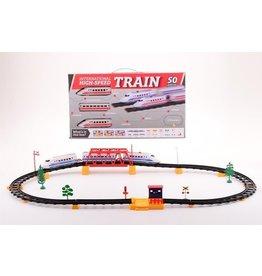 Hoge snelheid treinset doos 50-delig