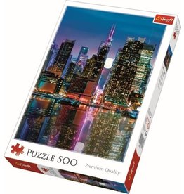 Trefi Puzzel 500 manhatten bij volle