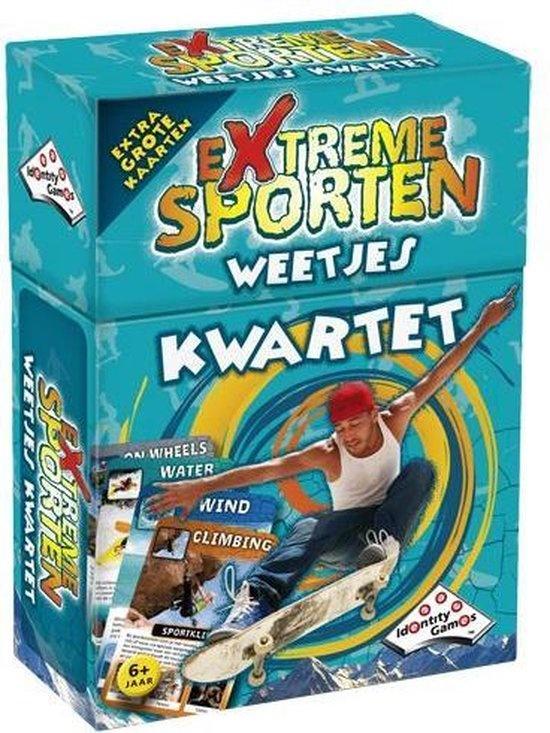 Identity Games Extreme sporten kwartet