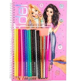 Top Model Kleurboek+kleurpotloden