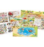 Kleurboek create your crazy farm