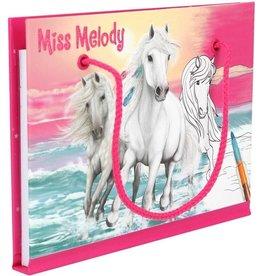 Miss melody Kleurboek met kleurpotloden