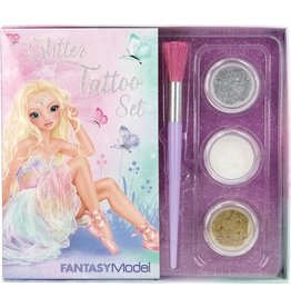 Fantasy model Glitter tatoeageset ballet