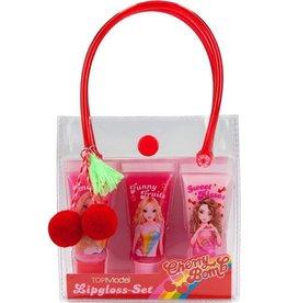 Top Model Lipgloss set cherry bomb