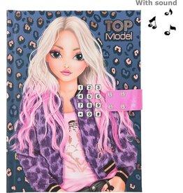 Top Model Dagboek met geheime code