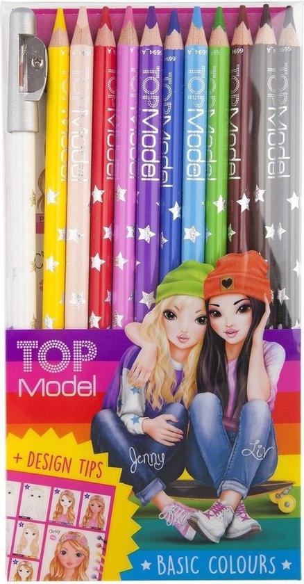Top Model Kleurpotloden 12 stuks