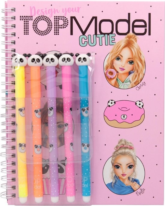 Top Model Kleurboek+viltstiften