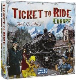 Days of wonder Spel ticket to ride europe