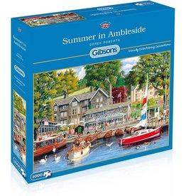 Gibsons Puzzel summer in ambleside1000