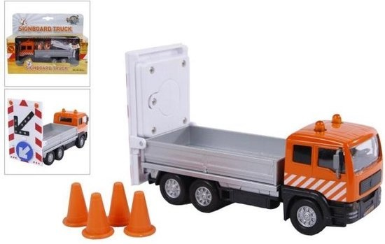 Kids Globe Kids globe truck+verkeersb.lic