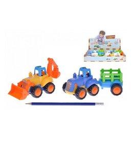 Tractor+aanhanger 16cm