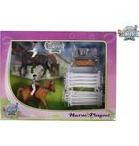 Kids Globe Kids globe paarden speelset