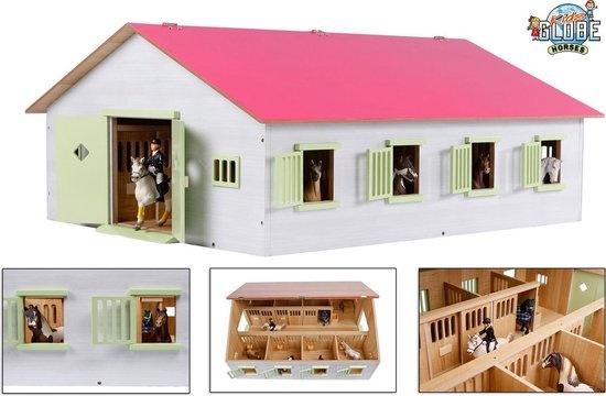 Kids globe paardenstal 7 box