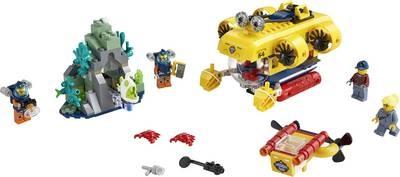 Lego LEGO City Oceaan Verkenningsduikboot