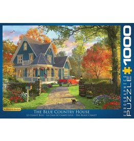 Eurograpics Puzzel 1000 the blue country h