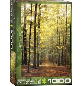 Eurograpics Puzzel 1000 forest path
