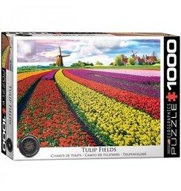Eurograpics Puzzel 1000 tulip fields nethe