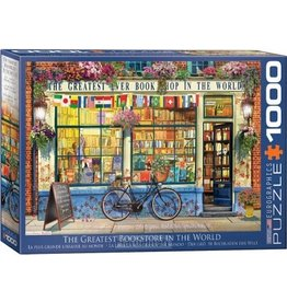 Eurograpics Puzzel 1000 greatest bookstore