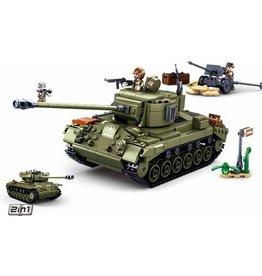 Sluban Sluban army med.amerikaan tank