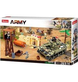 Sluban Sluban army slagveld