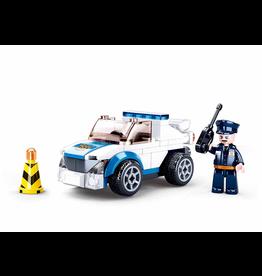 Sluban Sluban police+pull back motor