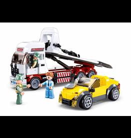 Sluban Sluban town auto ambulance