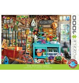 Eurograpics Puzzel 1000 the potting shed