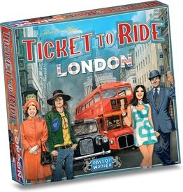 Days of wonder Spel ticket to ride london