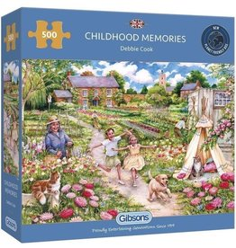 Gibsons Puzzel 500 childhood memories