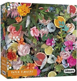 Gibsons Puzzel 1000 paper flowers